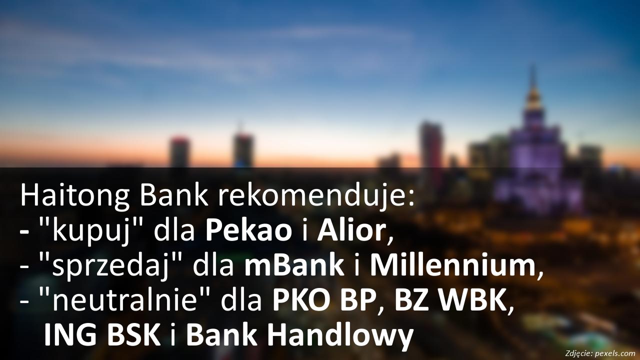 Haitong Bank rekomenduje