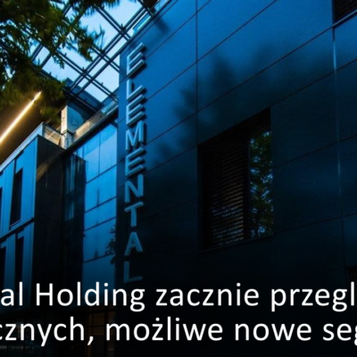 Elemental Holding zacznie przegląd opcji strategicznych