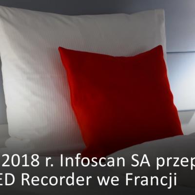 nfoscan przeprowadzi testy MED Recorder we Francji
