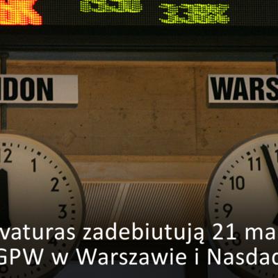 Akcje Novaturas zadebiutują 21 marca 2018 roku na GPW