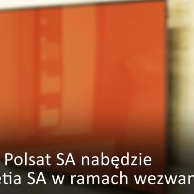 Cyfrowy Polsat nabędzie akcje Netii