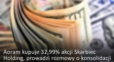 Aoram kupuje 32,99% akcji Skarbiec Holding