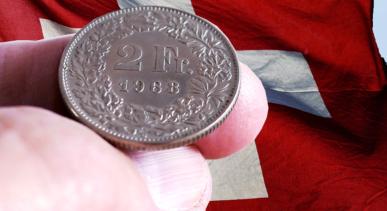 frank szwajcarski najdroższy od ponad roku