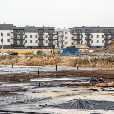 działki pod budowę mieszkań